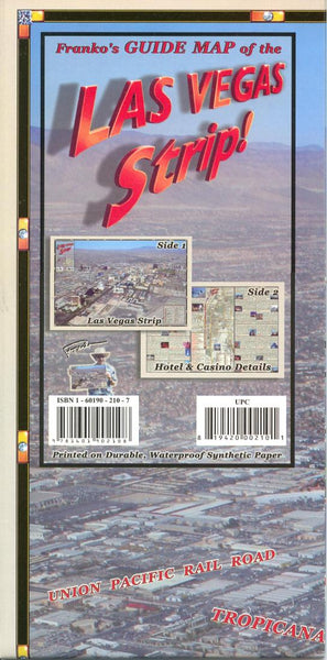 Buy map Frankos guide map of the Las Vegas strip by Frankos Maps Ltd.