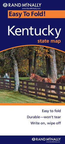 Buy map Kentucky, Easy to Fold by Rand McNally