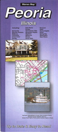 Buy map Peoria, Illinois by The Seeger Map Company Inc.