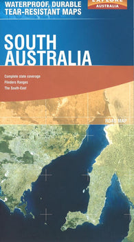 Buy map South Australia, Australia by Explore Australia