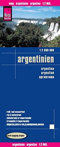 Buy map Argentina by Reise Know-How Verlag
