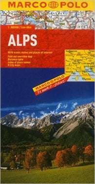 Buy map Alps by Marco Polo Travel Publishing Ltd