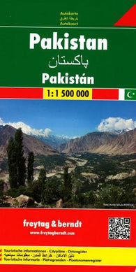 Buy map Pakistan by Freytag-Berndt und Artaria