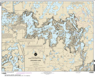 Buy map Crooked Lake (14989-10) by NOAA