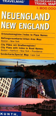 Buy map New England by Kunth Verlag