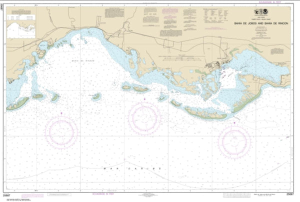 Buy map Bahia de Jobos and Bahia de Rincon (25687-13) by NOAA