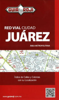 Buy map Juarez, Mexico by Guia Roji