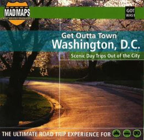 Buy map Washington DC Get Outta Town by MAD Maps YellowMaps