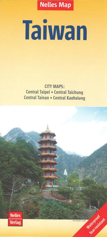 Buy map Taiwan by Nelles Verlag GmbH