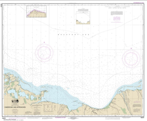 Buy map Camden Bay and Approaches (16044-8) by NOAA
