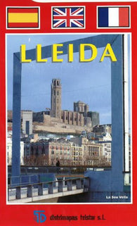 Buy map Lleida, Spain by Distrimapas Telstar, S.L.