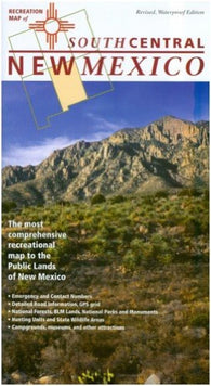 Buy map New Mexico, South Central, Recreation Map by Public Lands Interpretive Association