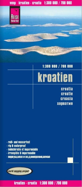 Buy map Croatia by Reise Know-How Verlag