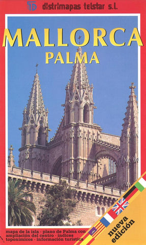 Buy map Majorca, Palma de Majorca, Spain by Distrimapas Telstar, S.L.