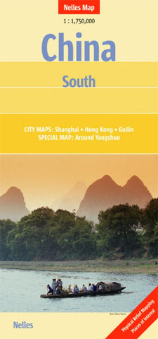 Buy map China, Southern by Nelles Verlag GmbH