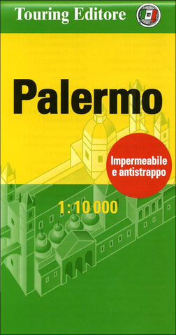 Buy map Palermo, Italy Pocket Map by Touring Club Italiano