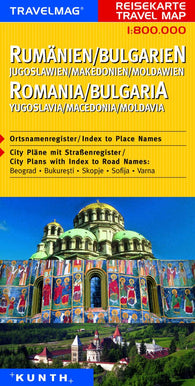Buy map Romania and Bulgaria by Kunth Verlag