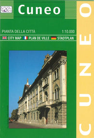 Buy map Cuneo, Italy by Litografia Artistica Cartografica