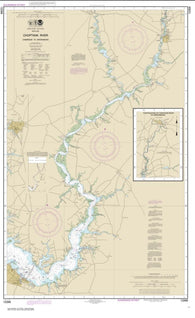 Buy map Choptank River Cambridge to Greensboro (12268-11) by NOAA