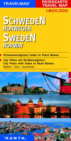 Buy map Sweden and Norway by Kunth Verlag