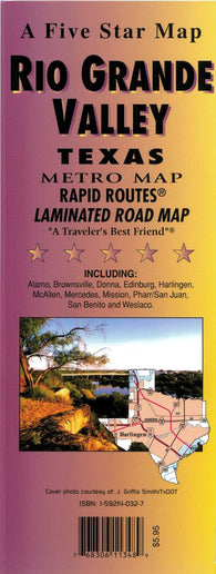 Buy map Rio Grande Valley Rapid Routes by Five Star Maps, Inc.