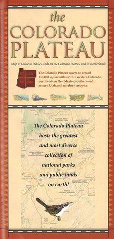 Buy map Colorado Plateau Adventure Map and Directory by Time Traveler Maps