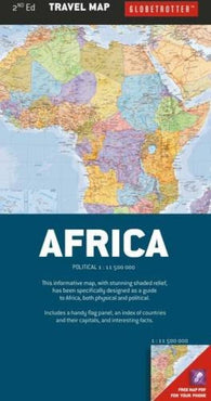 Buy map Africa, Travel Map by New Holland Publishers