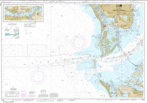 Buy map Tampa Bay Entrance; Manatee River Extension (11415-10) by NOAA
