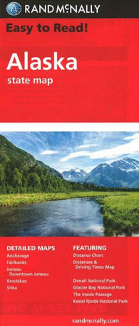 Buy map Alaska by Rand McNally
