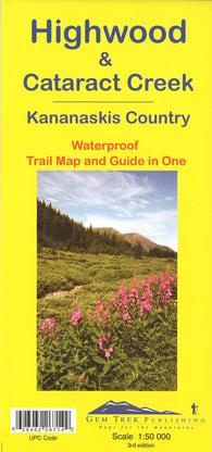 Buy map Highwood and Cataract Creek, Alberta Trail Map and Guide in One (waterproof) by Gem Trek