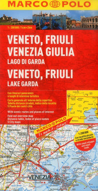 Buy map Veneto, Friuli and Lake Garda, Italy by Marco Polo Travel Publishing Ltd