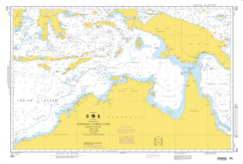 Buy map Indian Ocean - Australia, North Coast (NGA-603-6) by National Geospatial-Intelligence Agency