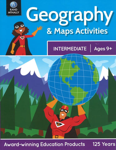 Buy map Geography and Maps Activities (Intermediate: Ages 9+) by Rand McNally