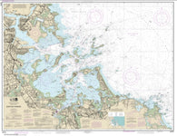 Buy map Boston Harbor (13270-64) by NOAA