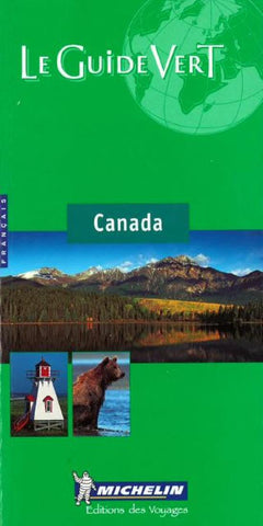 Buy map Canada, Green Guide, French Edition by Michelin Maps and Guides
