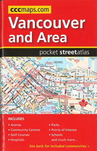 Buy map Vancouver and Area, BC Pocket Street Atlas by Canadian Cartographics Corporation