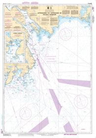 Buy map Approaches to/Approches au Halifax Harbour by Canadian Hydrographic Service