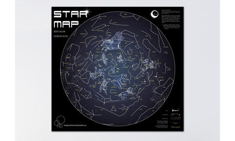 Buy map Glow in the Dark Star Chart by Maps International Ltd.