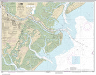 Buy map Savannah River and Wassaw Sound (11512-64) by NOAA