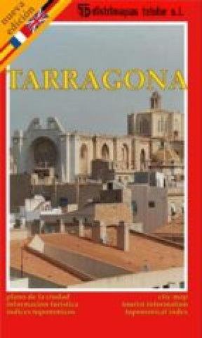 Buy map Tarragona, Spain by Distrimapas Telstar, S.L.