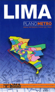 Buy map Lima, Peru, Metro Area by Lima 2000