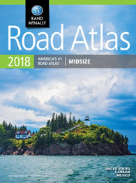 Buy map United States, Canada and Mexico, 2018 Midsize Road Atlas by Rand McNally