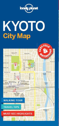 Buy map Kyoto City Map by Lonely Planet Publications