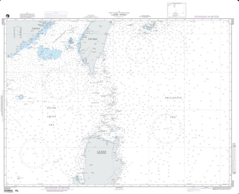 Buy map Luzon Strait (NGA-91010-6) by National Geospatial-Intelligence Agency