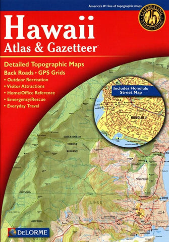 Buy map Hawaii Atlas and Gazetteer by DeLorme