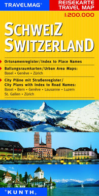 Buy map Switzerland by Kunth Verlag