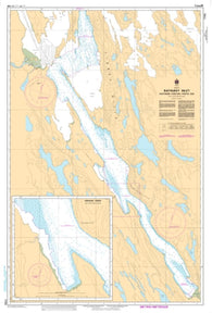 Buy map Bathurst Inlet - Southern Portion/Partie Sud by Canadian Hydrographic Service