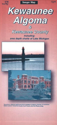 Buy map Algoma-Kewaunee, Wisconsin by The Seeger Map Company Inc.