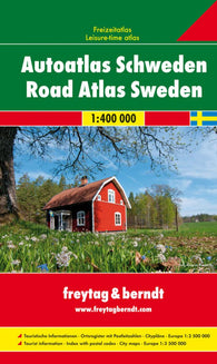Buy map Sweden, Road Atlas by Freytag-Berndt und Artaria