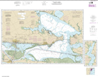 Buy map Intracoastal Waterway Carlos Bay to Redfish Bay, including Copano Bay (11314-25) by NOAA